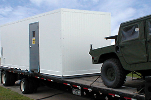 Mobile cleanroom for the US Navy